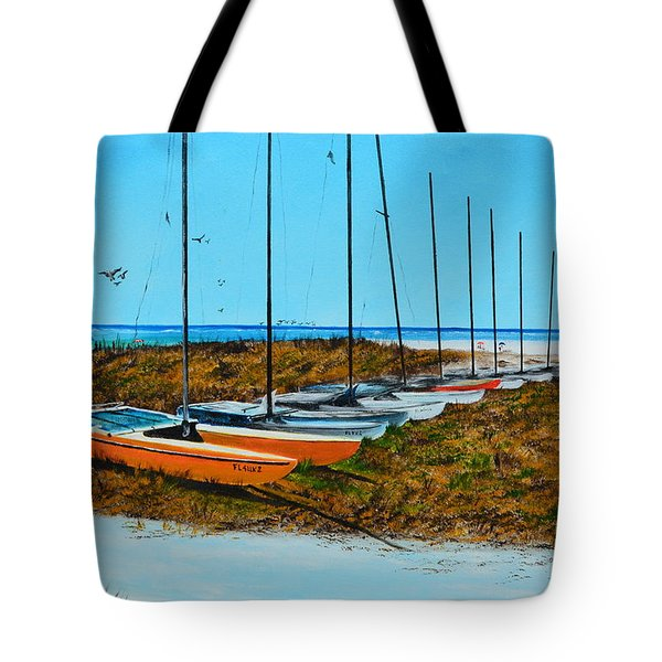 Siesta Key Access #8 Catamarans Tote Bag