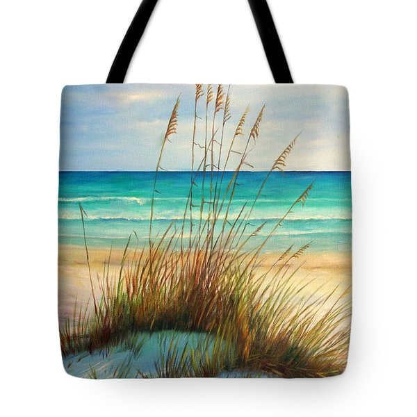 Siesta Key Beach Dunes  Tote Bag by Gabriela Valencia