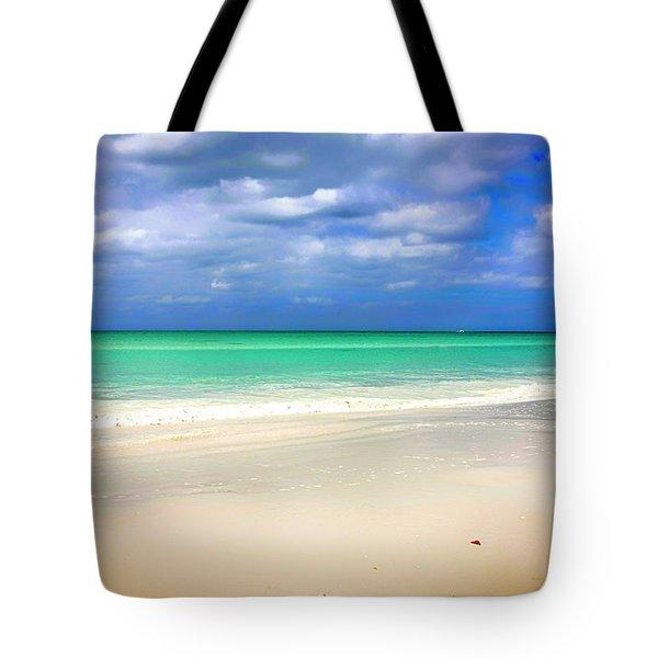 Siesta Key Beach Florida  Tote Bag by Chris Smith