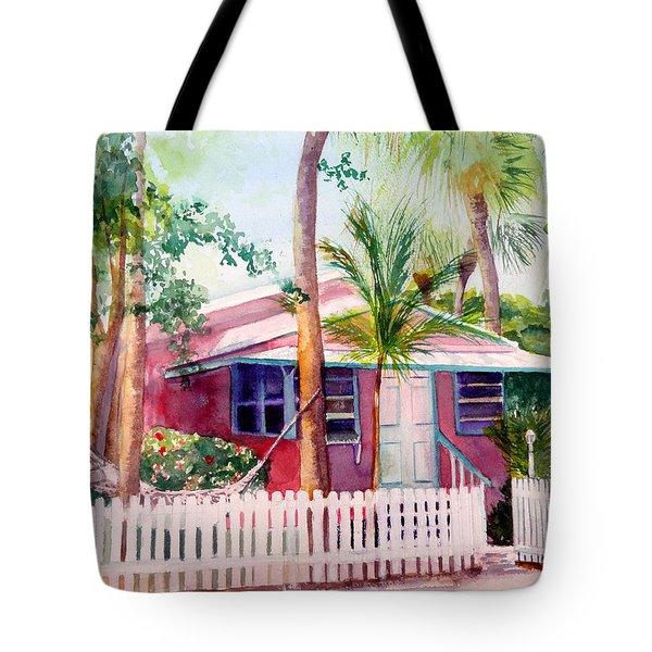 Siesta Key Cottage Tote Bag