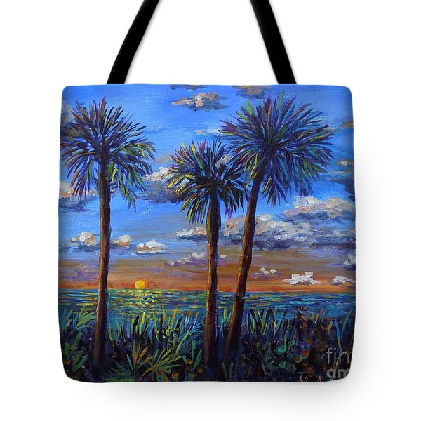Siesta Summer Sunset Tote Bag