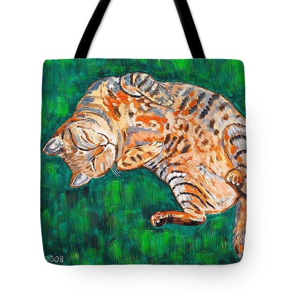 Siesta Tote Bag by Valerie Ornstein