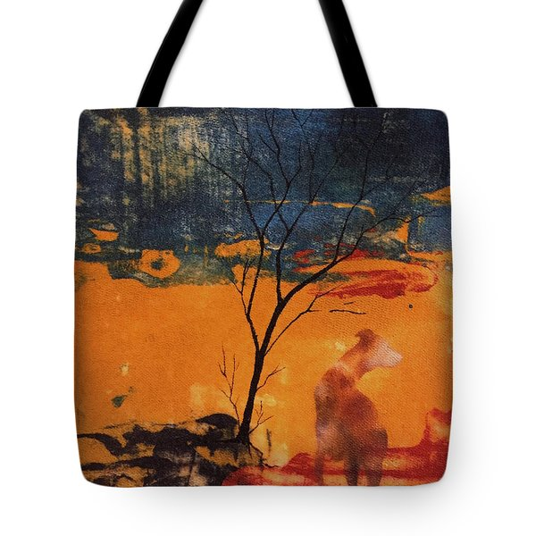 Tote Bag featuring the painting Sight Hound by William Renzulli