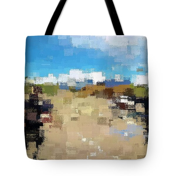 Tote Bag featuring the digital art What Do You See? by David Manlove