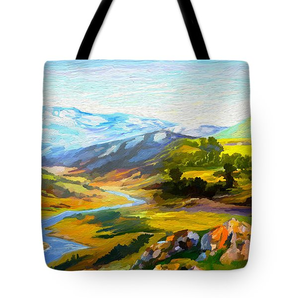Sights And Sounds Tote Bag
