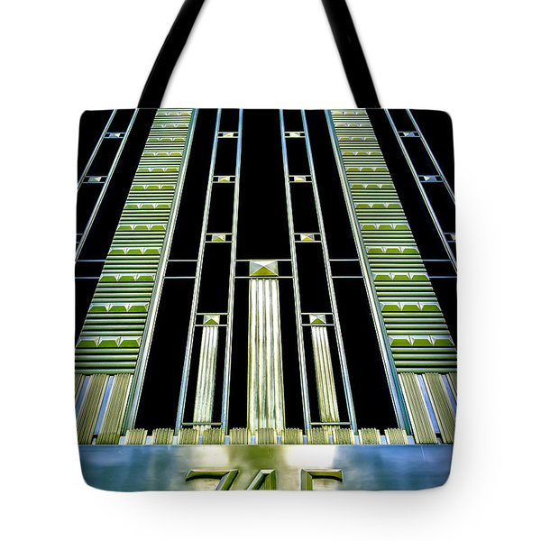 Tote Bag featuring the photograph Sights In New York City - Classy Address by Walt Foegelle