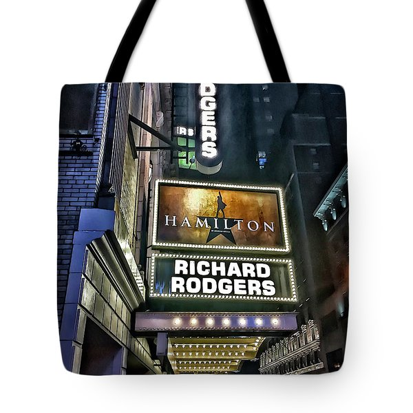 Sights In New York City - Hamilton Marquis Tote Bag