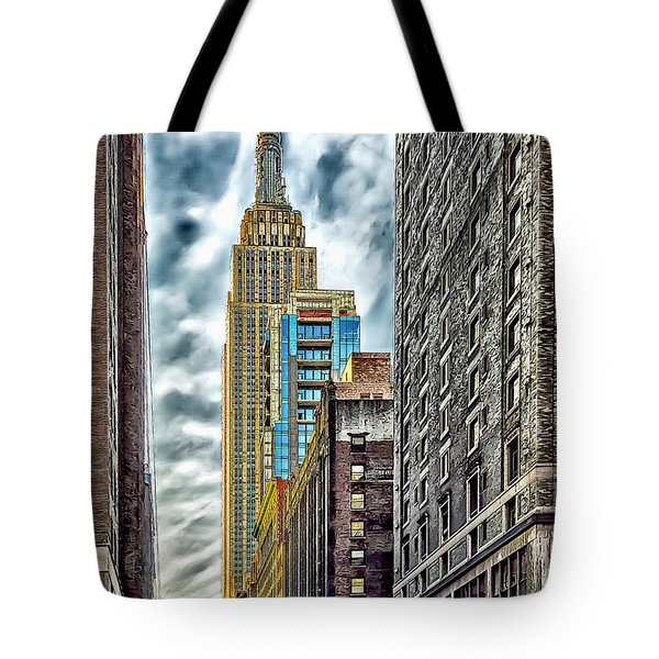 Tote Bag featuring the photograph Sights In New York City - Skyscrapers 10 by Walt Foegelle