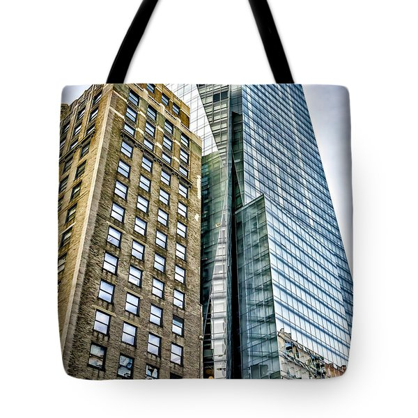 Tote Bag featuring the photograph Sights In New York City - Skyscrapers by Walt Foegelle