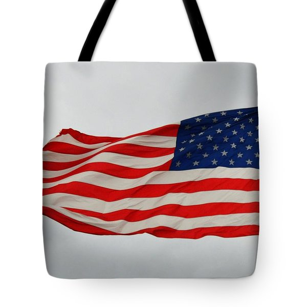 Sign Of Freedom Tote Bag
