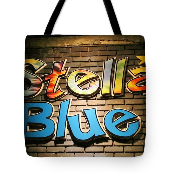 Sign Of Stella Blue Tote Bag