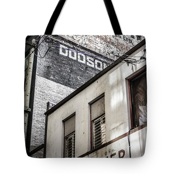 Tote Bag featuring the photograph Signage by Ross G Strachan