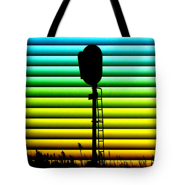 Signal At Dusk Tote Bag by Bill Kesler