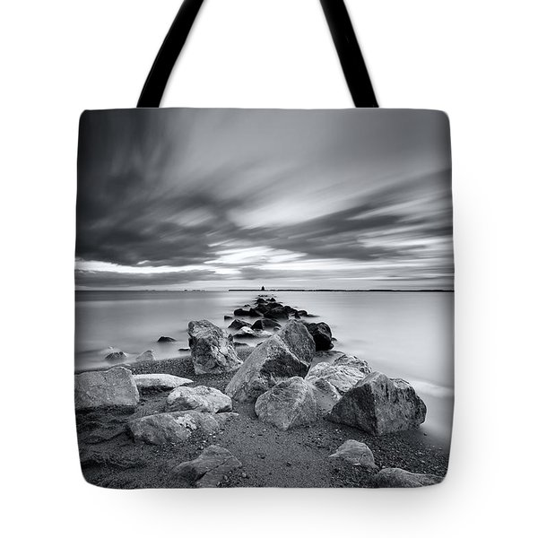 Signature In Black And White Redux Tote Bag