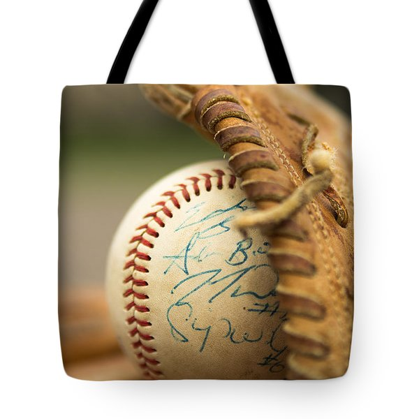 Tote Bag featuring the photograph Signed And Delivered by Erin Kohlenberg