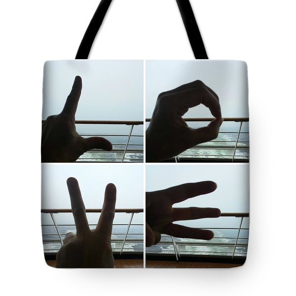 Signs Of Love Tote Bag