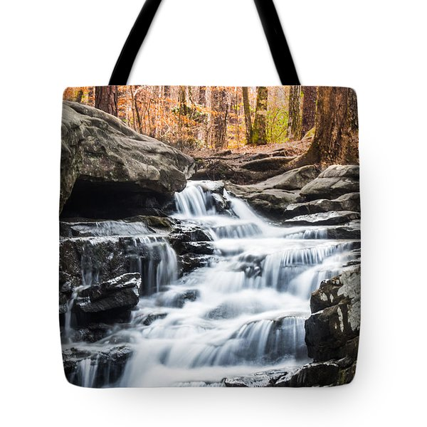 Autumn At Moss Rock Preserve Tote Bag
