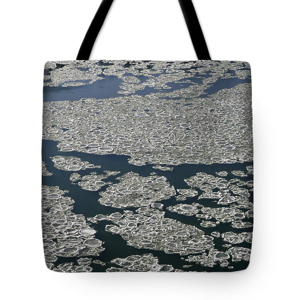 Signs Of Winter Tote Bag by Rhonda McDougall