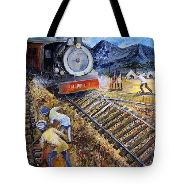 Sikhs In Africa Tote Bag