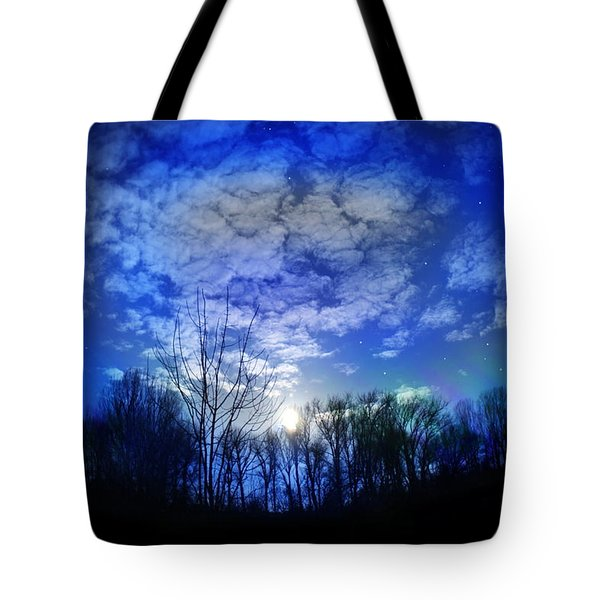 Silence Tote Bag by Bernd Hau