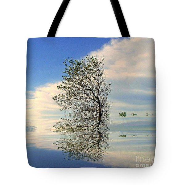 Silence Tote Bag by Elfriede Fulda