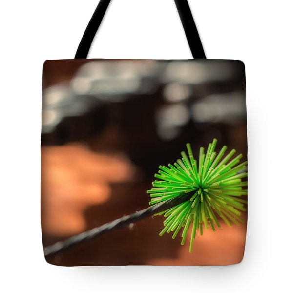 Tote Bag featuring the photograph Silence Me by Tim Nichols