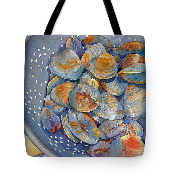 Silence Of The Clams Tote Bag