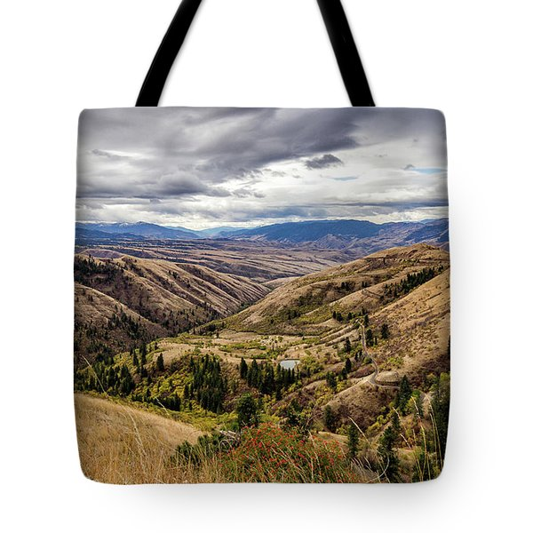 Silence Of Whitebird Canyon Idaho Journey Landscape Photography By Kaylyn Franks  Tote Bag