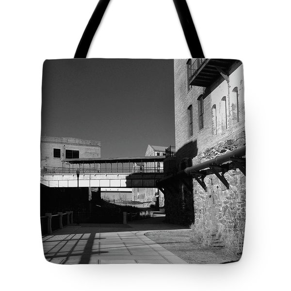 Silence On The Banks Of The Chattahoochee Tote Bag