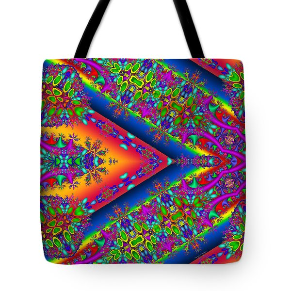 Tote Bag featuring the digital art Silence by Robert Orinski