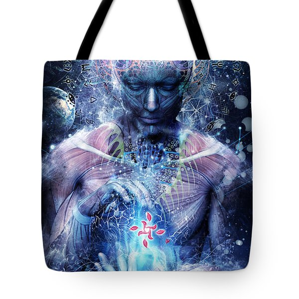 Silence Seekers Tote Bag by Cameron Gray