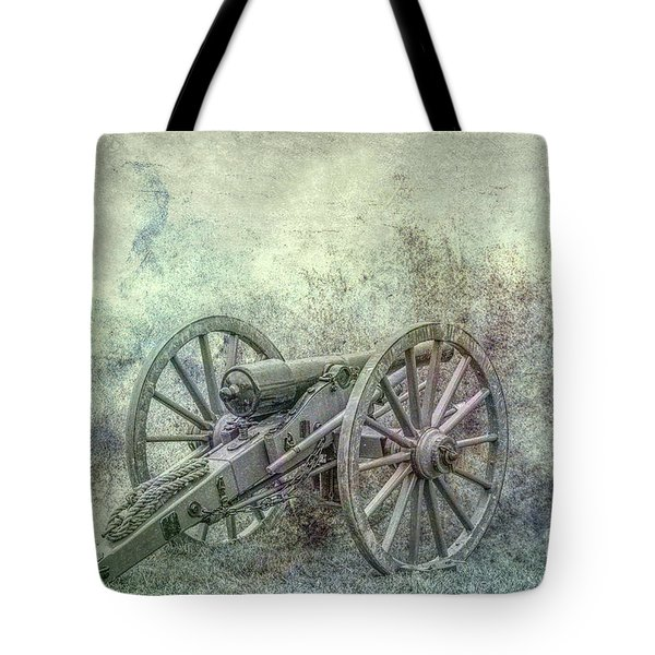 Tote Bag featuring the digital art Silent Cannon Field Of Fire by Randy Steele