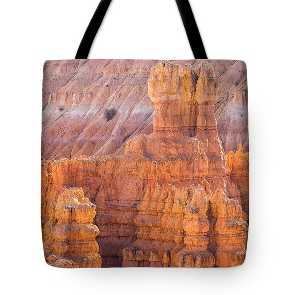 Tote Bag featuring the photograph Silent City Glow by Patricia Davidson