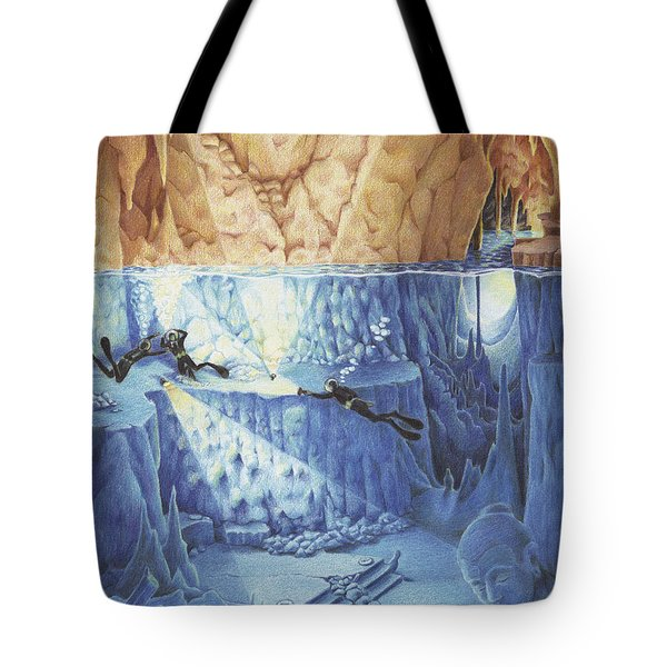 Silent Echoes Tote Bag by Amy S Turner