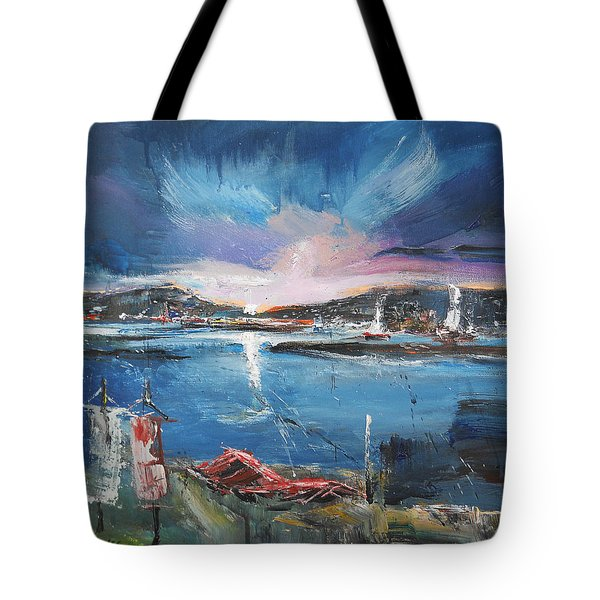 Silent Evening IIi Tote Bag