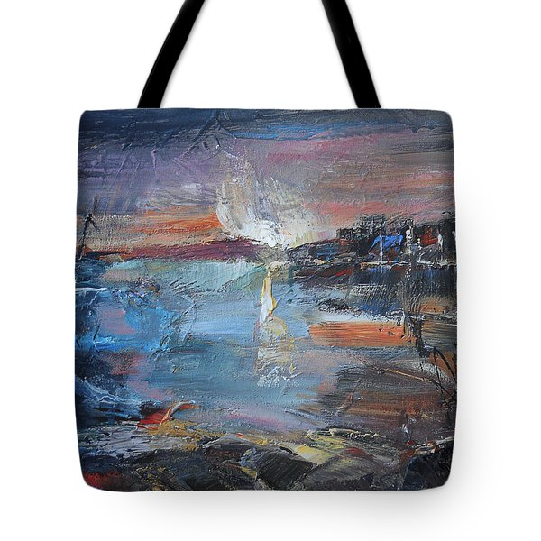 Silent Evening  Tote Bag