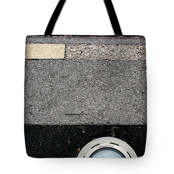 Middle Grey Tote Bag