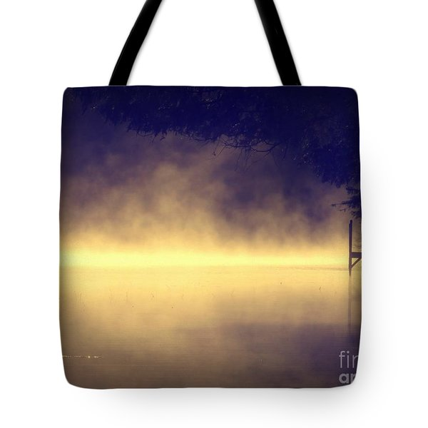 Tote Bag featuring the photograph Silent Lake by France Laliberte