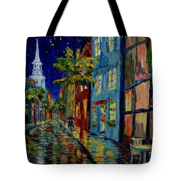 Silent Night Tote Bag by Dorothy Allston Rogers