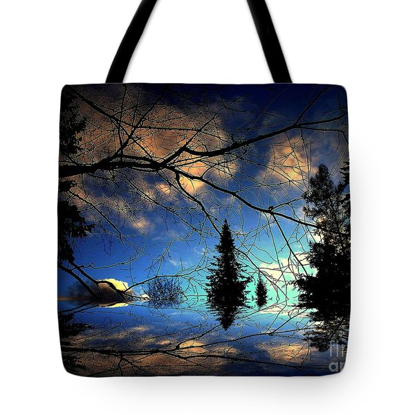 Silent Night Tote Bag