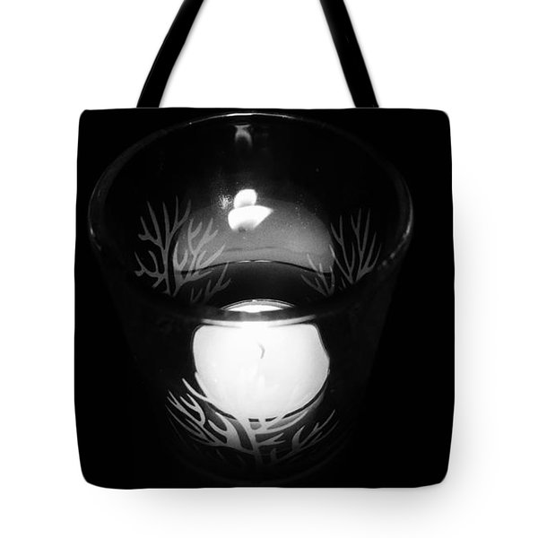 Silent Night Light Tote Bag