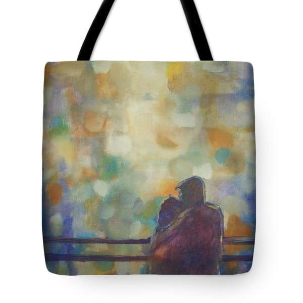 Tote Bag featuring the painting Silent Night by Raymond Doward