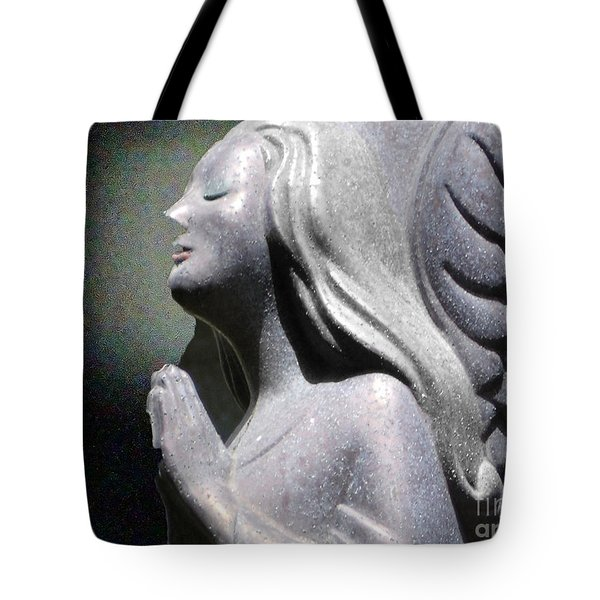 Tote Bag featuring the photograph Silent Peace by Lyric Lucas