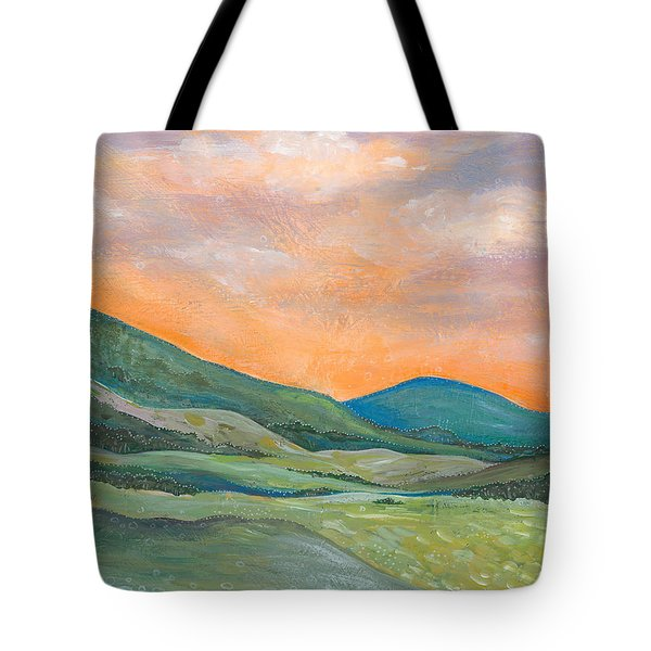 Tote Bag featuring the painting Silent Reverie by Tanielle Childers