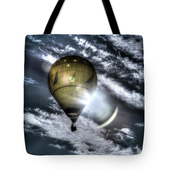 Silent Ride Tote Bag