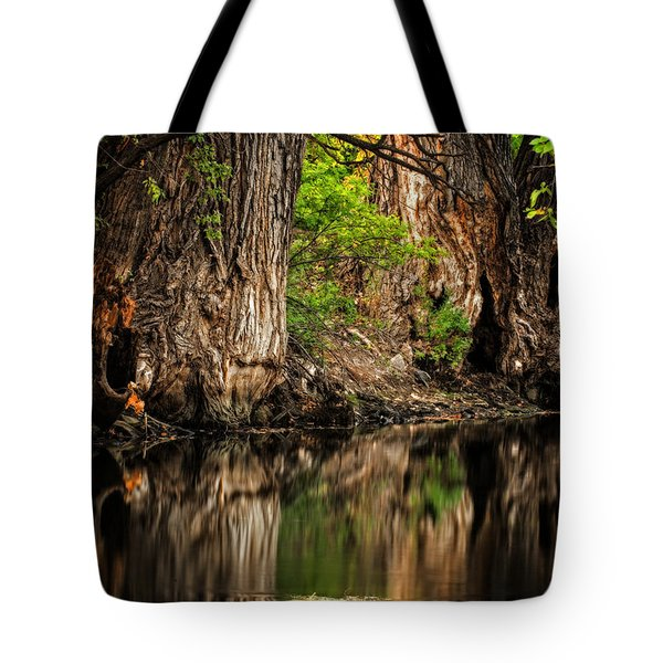 Silent River Tote Bag