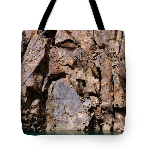 Silent Rocks Tote Bag by Konstantin Dikovsky