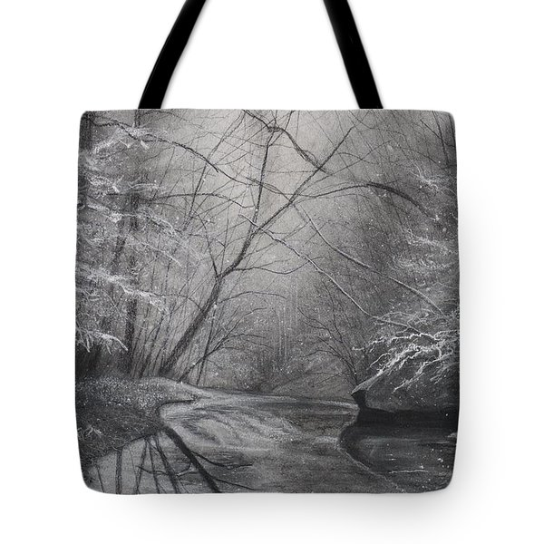Silent Running Tote Bag