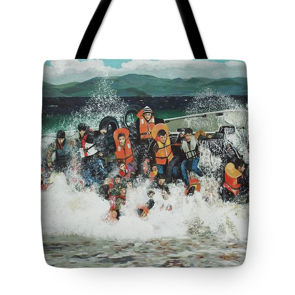 Silent Screams Tote Bag