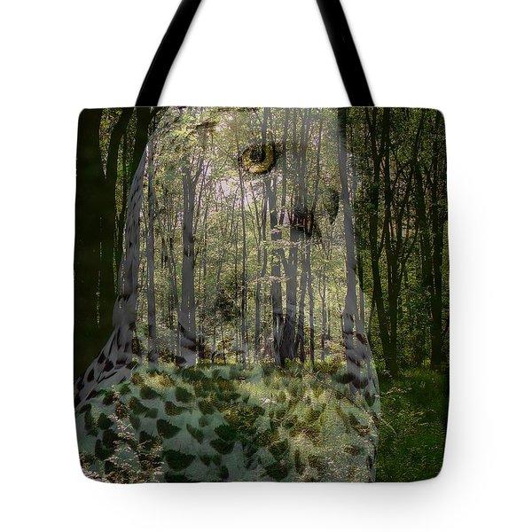 Silent Sentinel Tote Bag by Priscilla Richardson